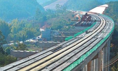 爆破振动监测方案-疏港道路跨平南铁路