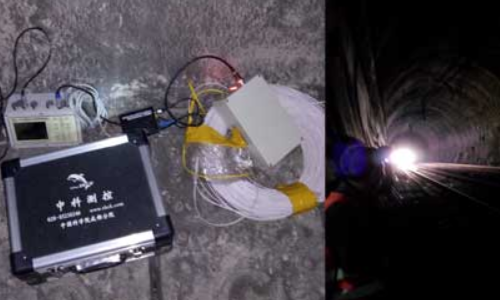 4850N无线网络测振仪隧道振动监测案例