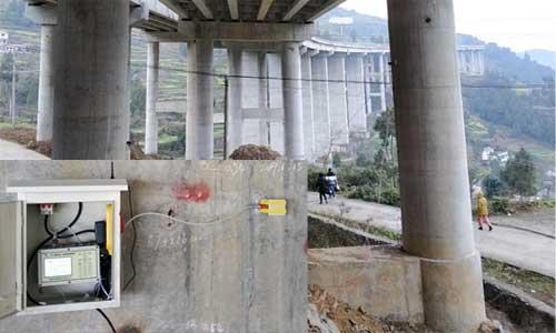 遵赤高速远程自动化桥梁振动监测项目
