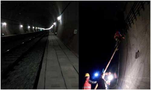 张吉怀铁路远程无线网络隧道振动监测