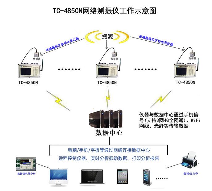 4850N无线网络测振仪原理图片