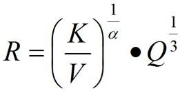 衰减规律公式